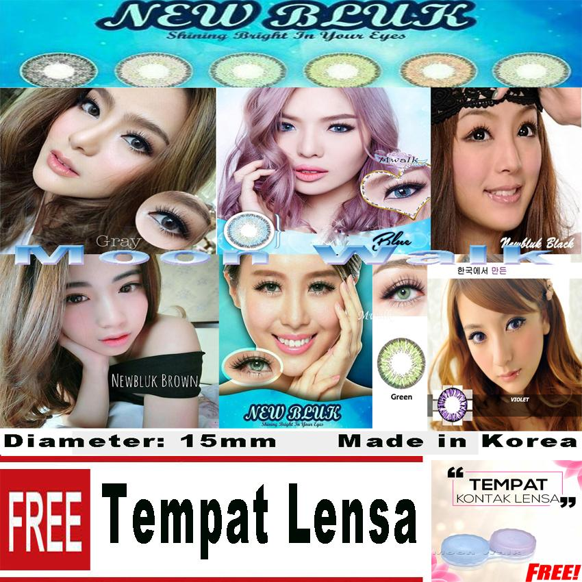 Newbluk Softlens Made in Korea Gratis Tempat Lensa