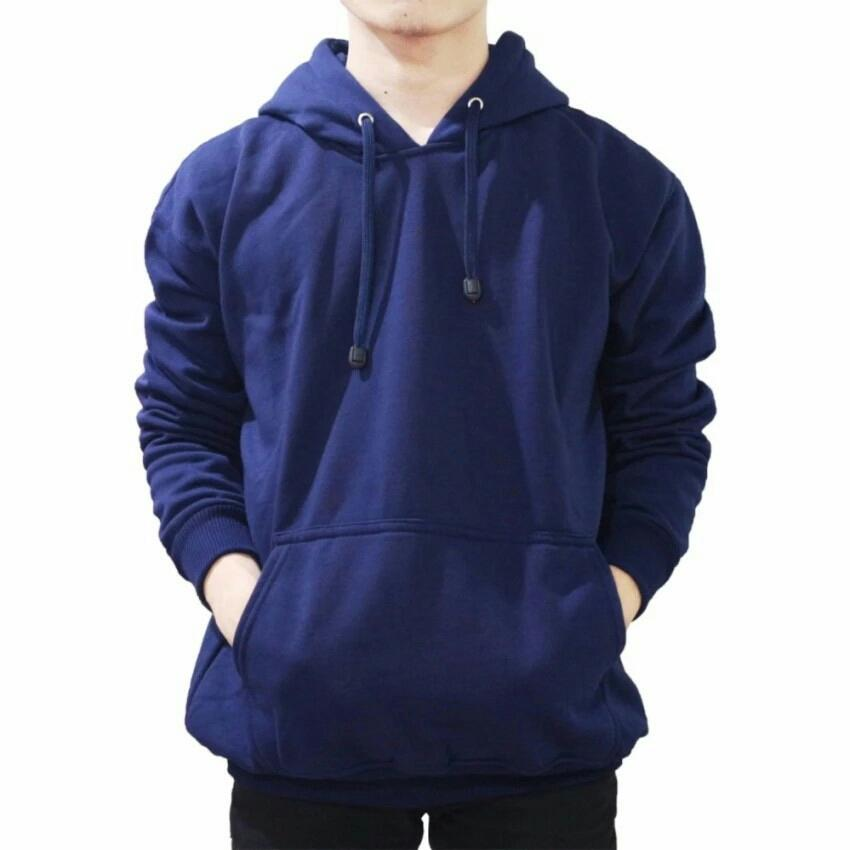 VBX - Jaket Sweater Hoodie Pria Jumper Polos Bahan Fleece