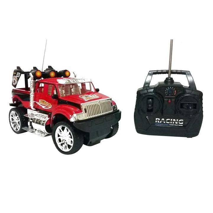 Mainan Remote Control RC Jeep Driver Murah - merah