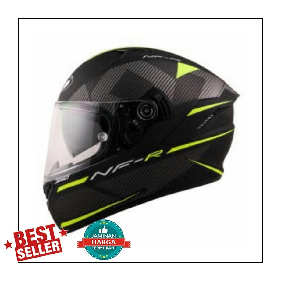 HELM KYT NFR LOGOS MATT YELLOW BLACK DOFF