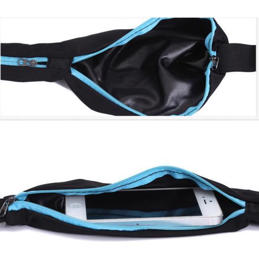 Best Seller!!! Double Pocket Running Belt - Tas Jogging Model Ikat Pinggang Murah Terbaru Berkualitas