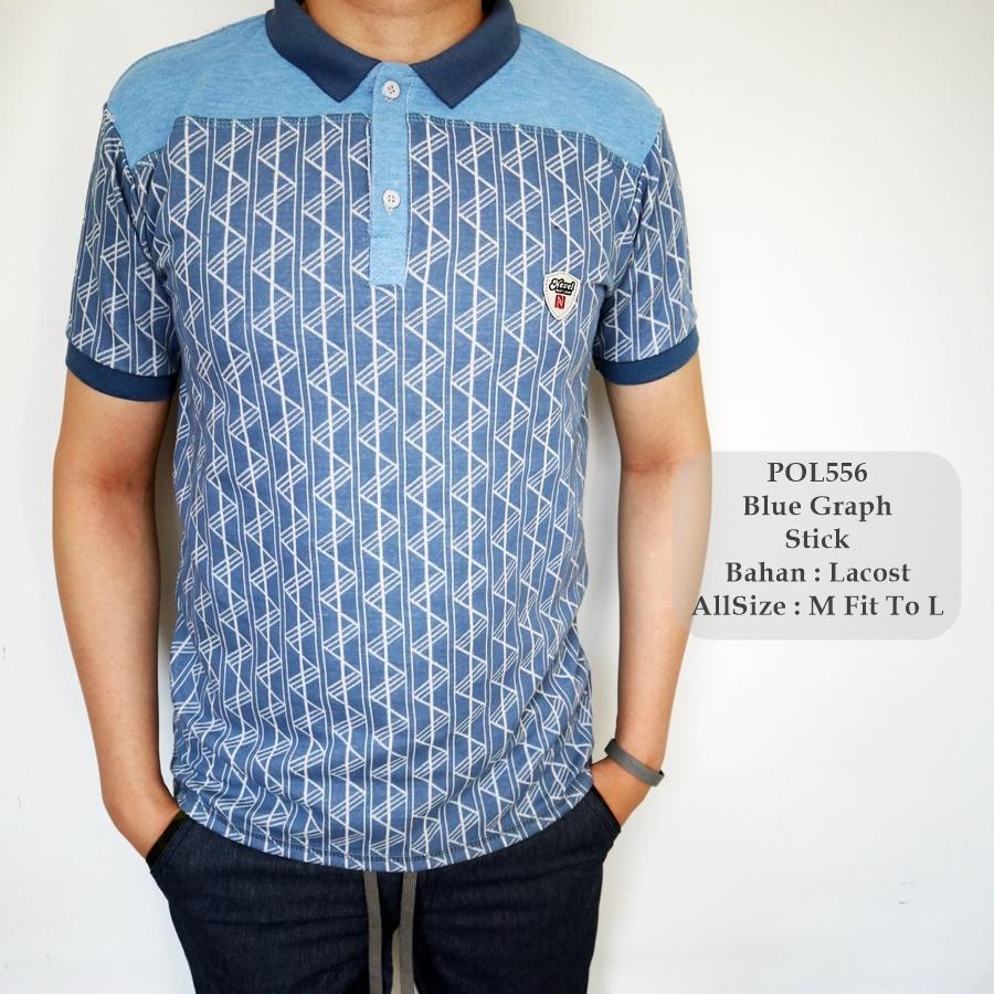 GFS 556 Polo Fashion Pria / Polo Lacost Cowok / Baju Kerah Distro / Baju Pria