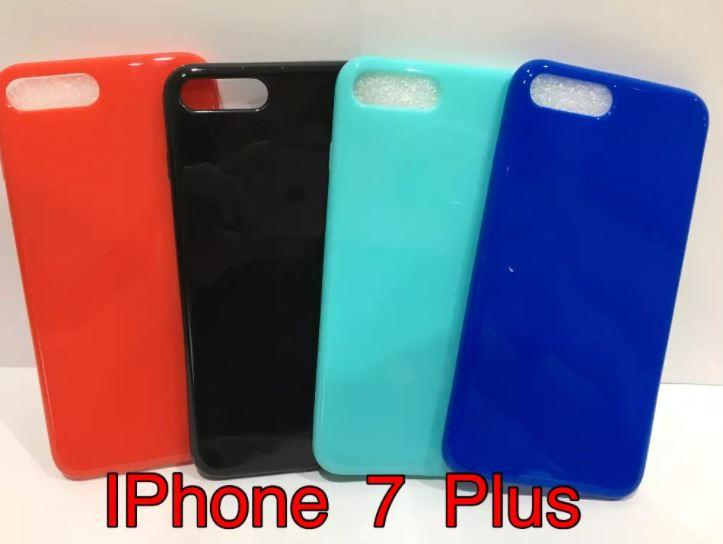 Jelly Glossy Soft Case Iphone 7 Plus - IP 8 Plus