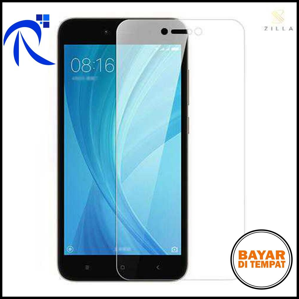 Zilla 2.5D Tempered Glass Curved Edge 9H 0.26mm for Xiaomi Redmi 5A - Transparant / Transparan - Pe