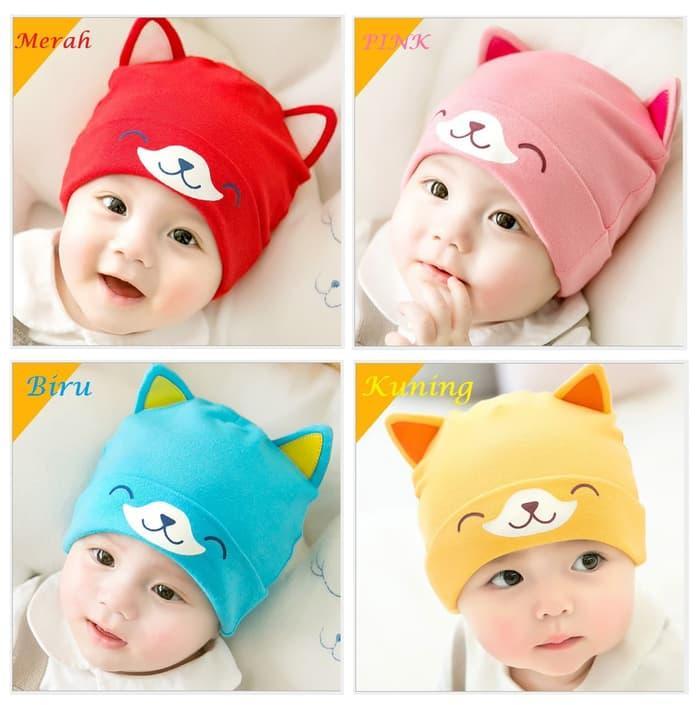 Topi Kupluk Bayi   Topi Kupluk Anak Lucu Dan Imut 1a42283853