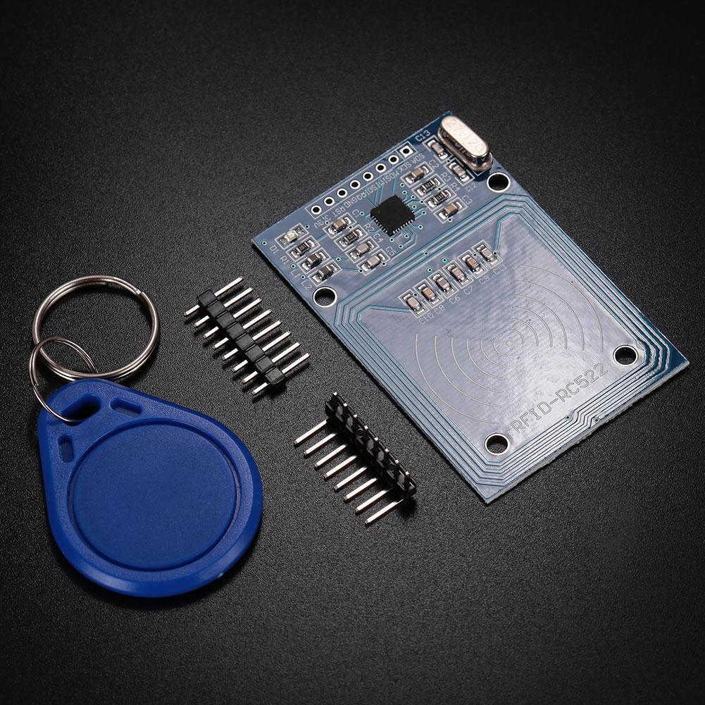 NFC MFRC-522 RC522 RFID RF IC Card 13.56MHz Module with S50 Card Keychain