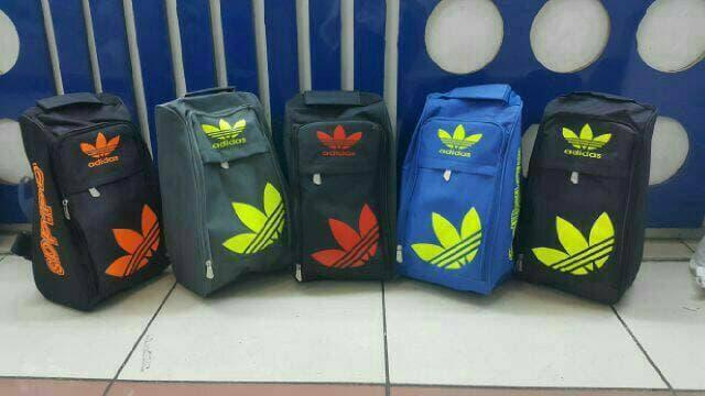 ORIGINAL!!! Tas Sepatu Bola Adidas/Tas Sepatu Futsal Adidas/Tas Selempang Futsal - lud3KJ