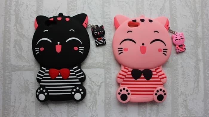 Xiomi Redmi 4A Case Softcase Case 4D Kucing /Silikon /Boneka /Karakter /3D