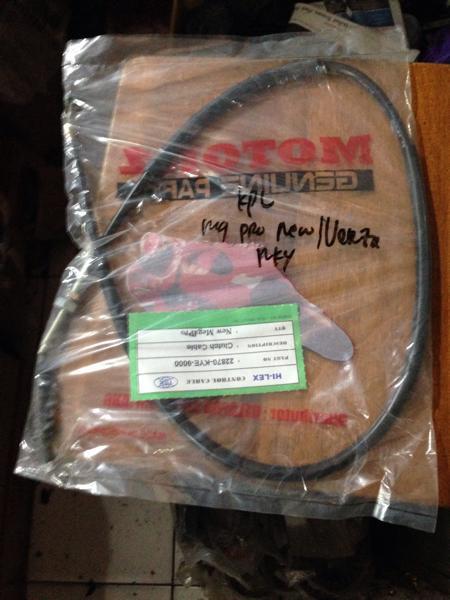Kabel kopling Verza /megapro new monoshock asli Tsk