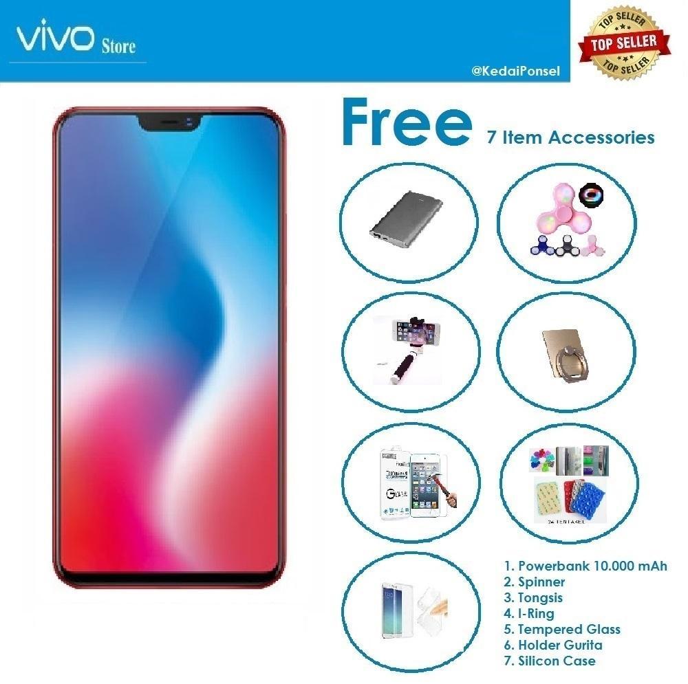 VIVO V9 Plus 6 64GB Paket Accessories 7 Item