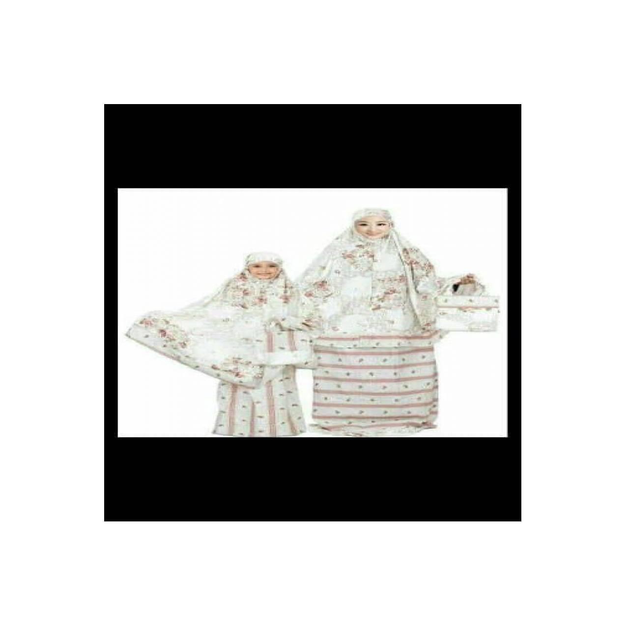 ( TERMURAH ) grosir Mukena Ibu Dan Anak Katun Jepang Original