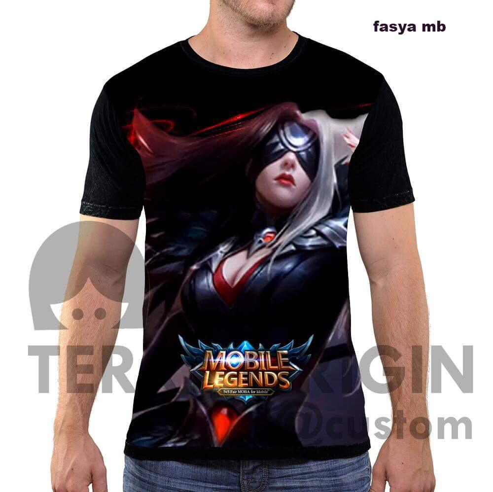 Fasya kaos game mobile legend 3d terry fullprint