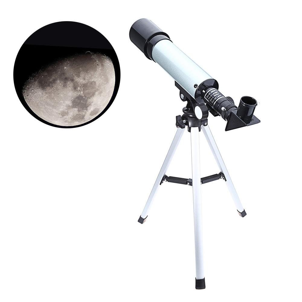 Astronomical Monocular Celestron Telescope With Tripod 2 Eyepiece Optical Refractor Zoom Spyglass For Child Astronomic Space