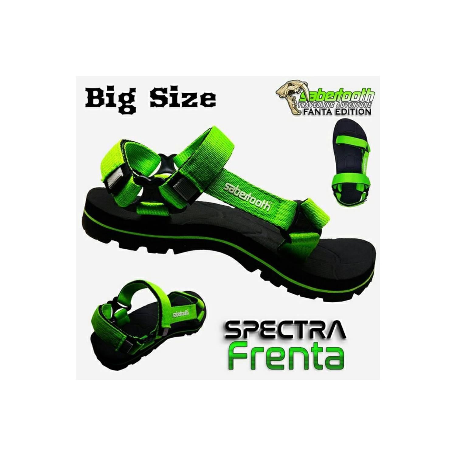 Sabertooth Sandal Gunung Traventure Prosauro Blacknight X1 Hitam Spectra All Series Size 32 S D 47 Limited Edition Frenta Big 45 4