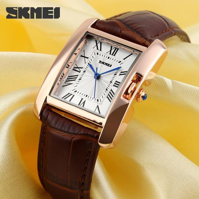SKMEI Woman Fashion Watch 1085 Original Water Resistant 30M / Jam Tangan Wanita / Jam Tangan SKMEI