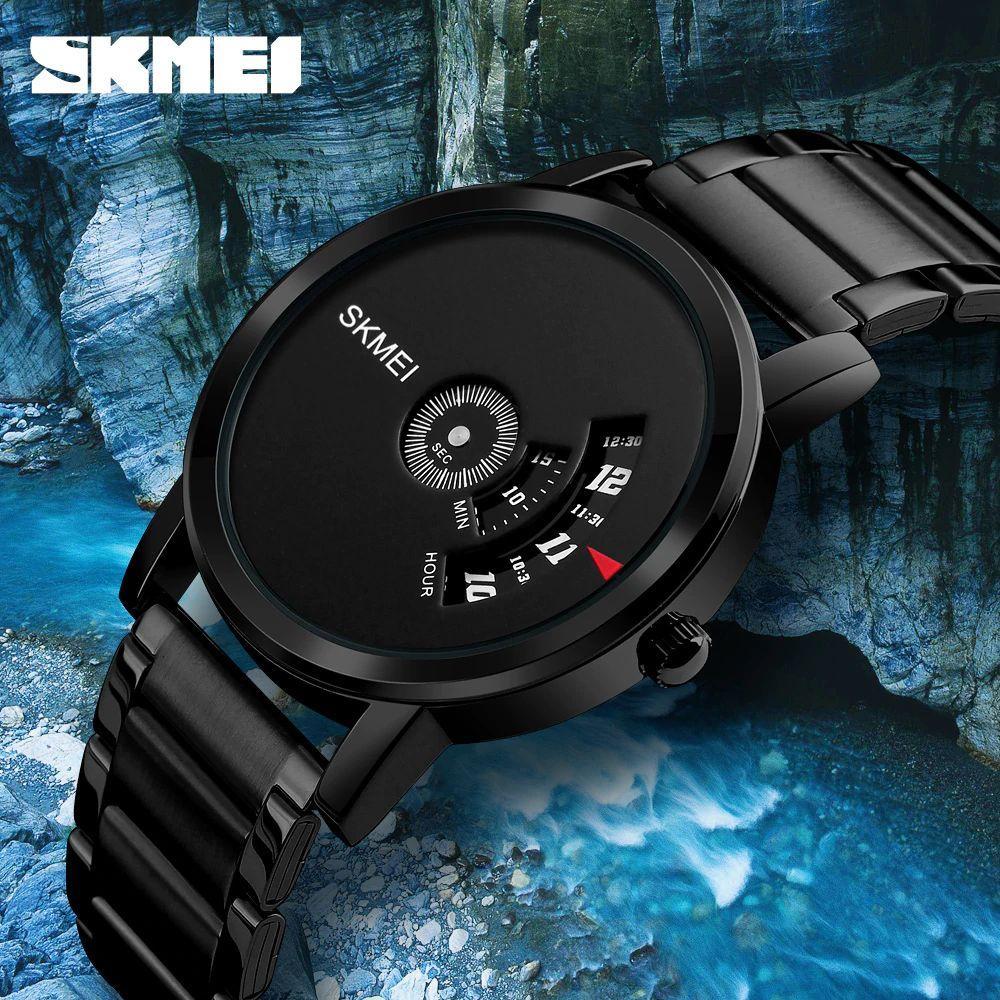 Jam Tangan Skmei Original Terlengkap Sport Watch 1142 Water Resistant 50m Hitam Pria 1260