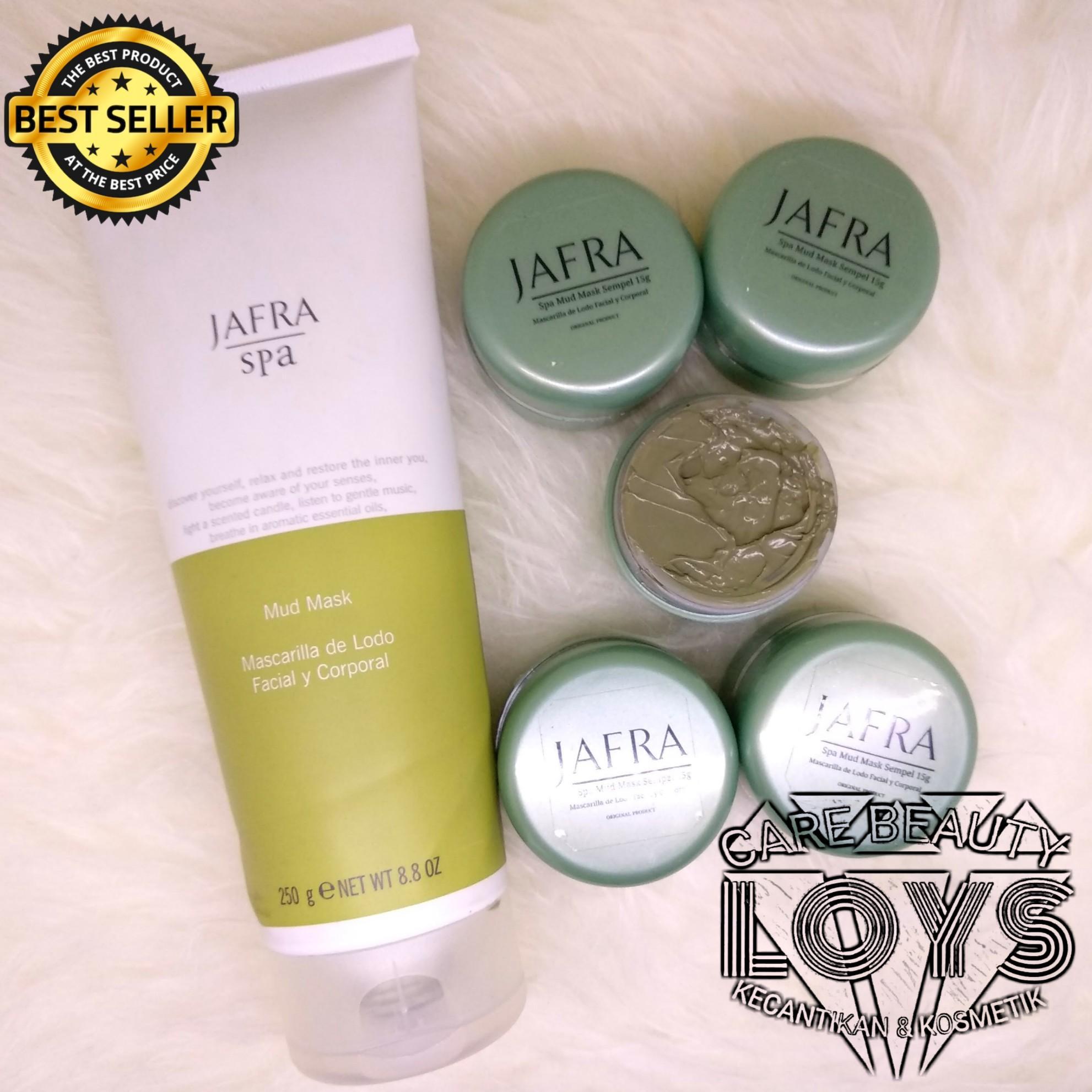 Jafra Spa Mud Mask ORIGINAL - Masker Jafra - Masker Lumpur - Jafra Sempel Jar 15g