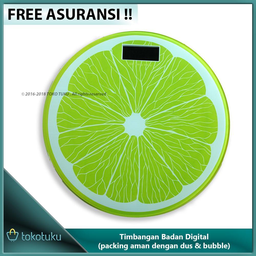 Buy Sell Cheapest Timbangan Digital 180 Best Quality Product Deals Badan Kaca Elektronik Kg Electronic Body Scale Tempered Glass Model Buah