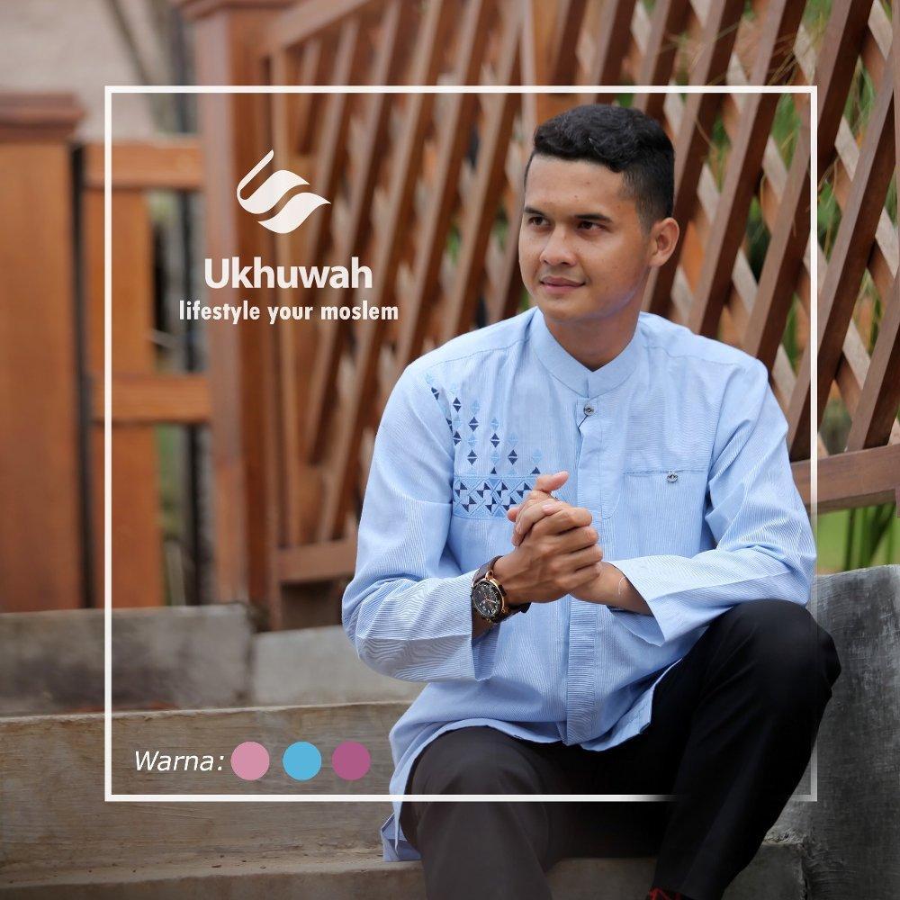 Baju Koko Gaul Mewah Ukhuwah III di lapak Ukhuwahstore ukhuwahstoreIDR320000
