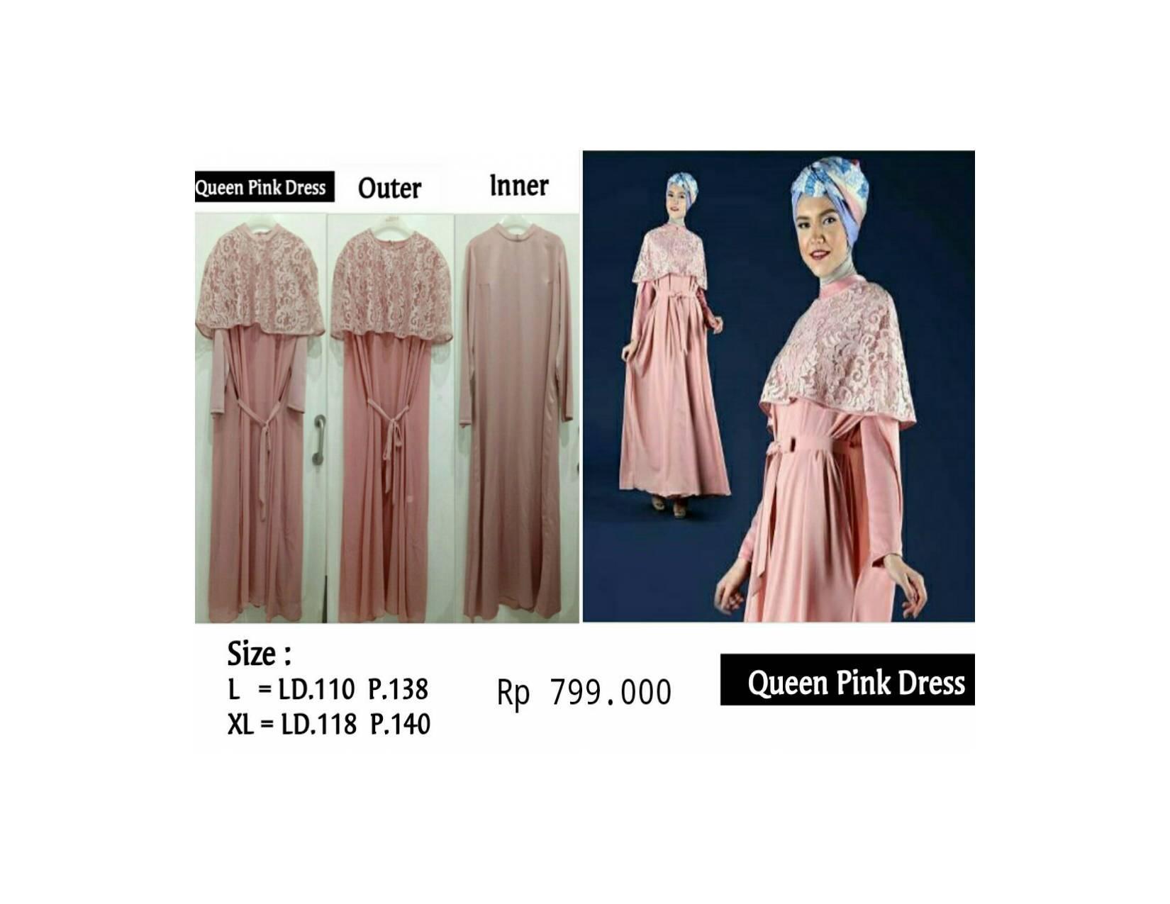 Dress Queen Pink Ivan Gunawan Rp 799.000 Disc Jadi Rp 679.150