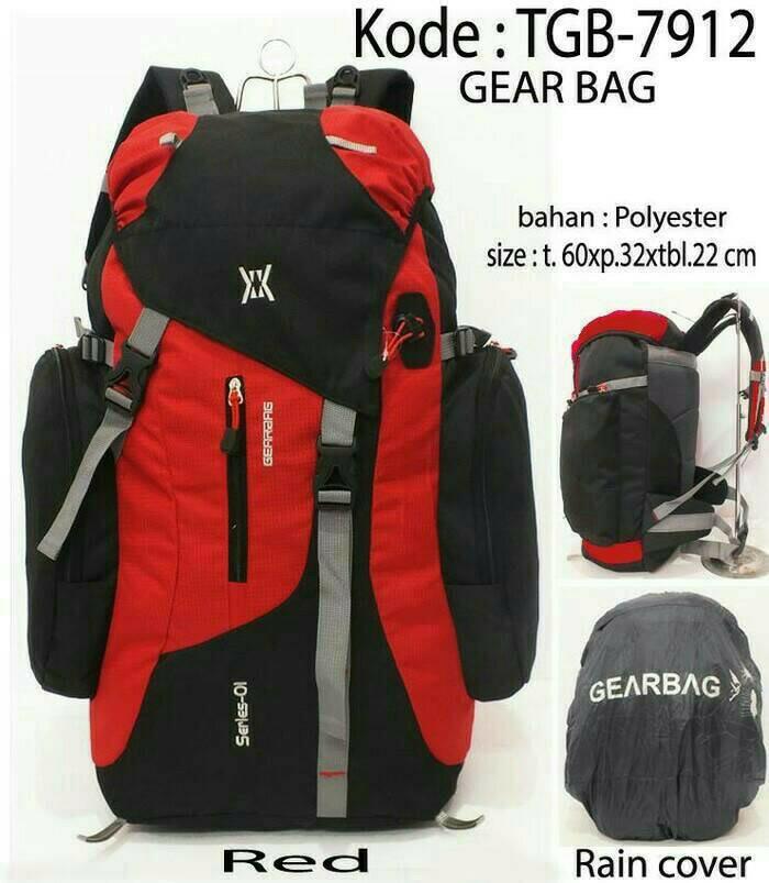 Tas Ransel Carrier Gear Bag Tas Gunung Travelling Hiking Outdoor Keril