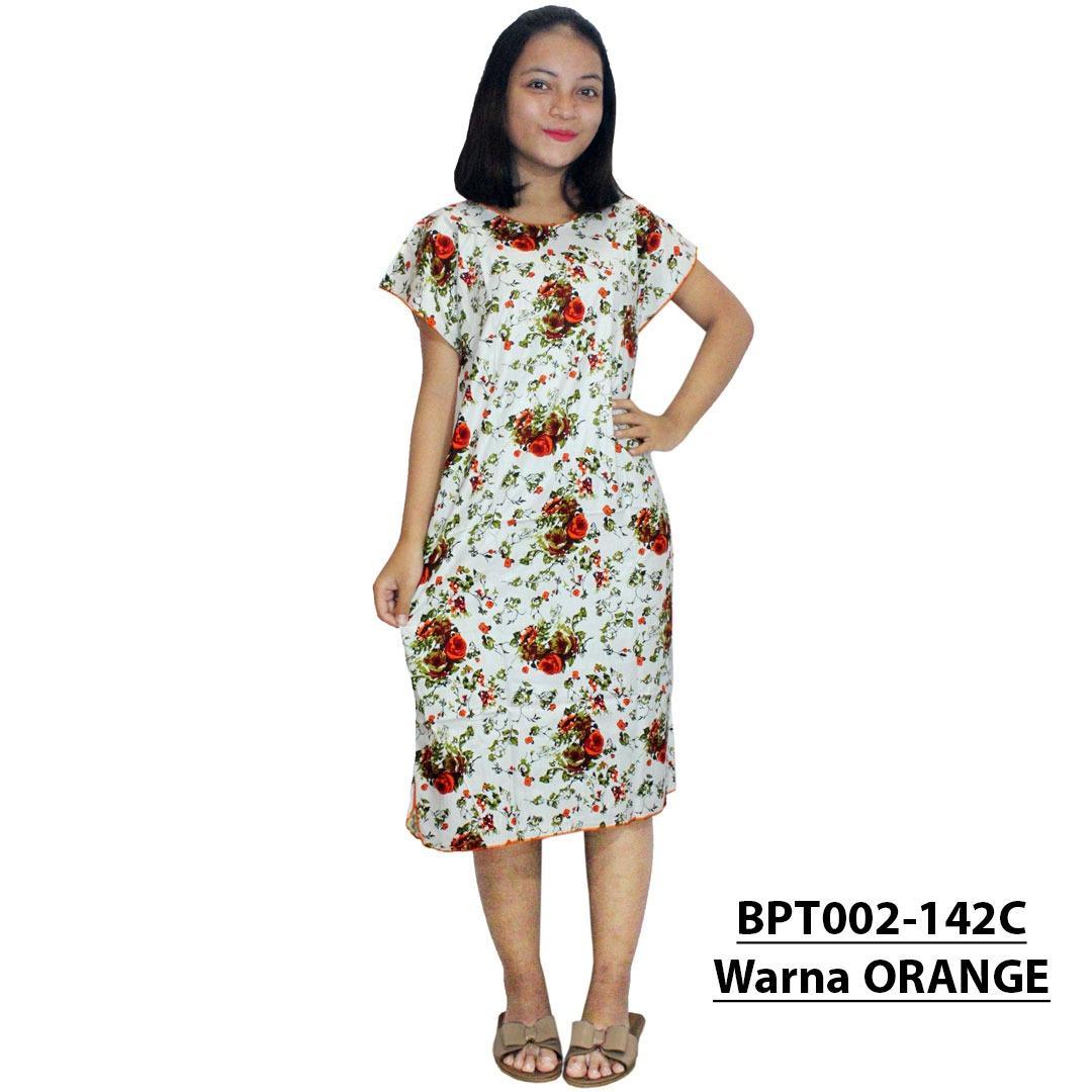Midi, Daster Midi, Dress Santai, Baju Tidur, Piyama, Atasan Batik (BPT002-142) Batikalhadi Online