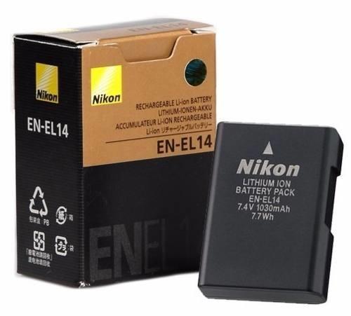 Baterai / Battery Nikon EN-EL14 untuk DSLR Nikon D3100, D3200, D5100