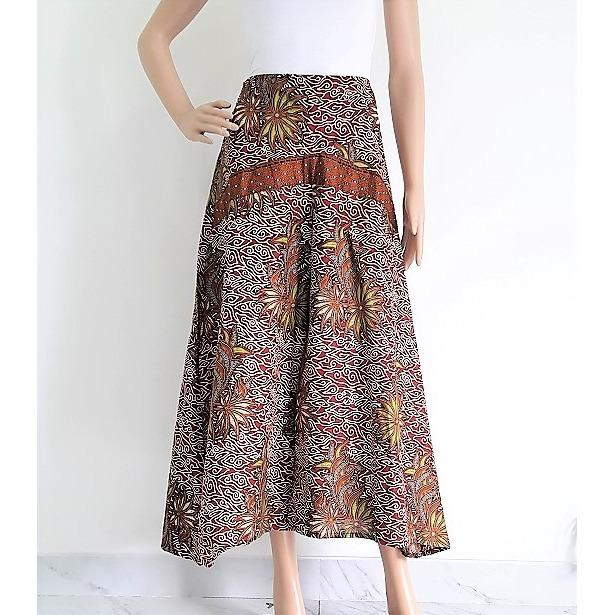 Celana Batik Kulot Panjang Bella