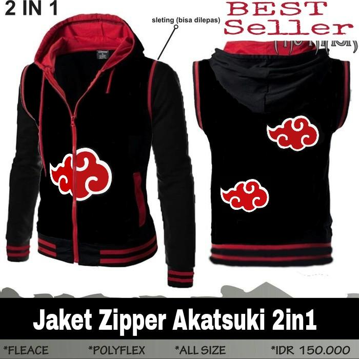 Jaket Anime 2in1 Akatsuki