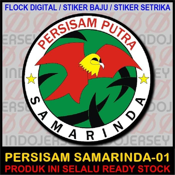 Hot Item!! Patch Flock Setrika - Logo Indonesia - Persisam Samarinda 01 - ready stock