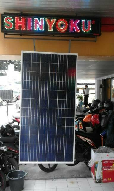 Promo   300WP SOLAR PANEL SHINYOKU   Original
