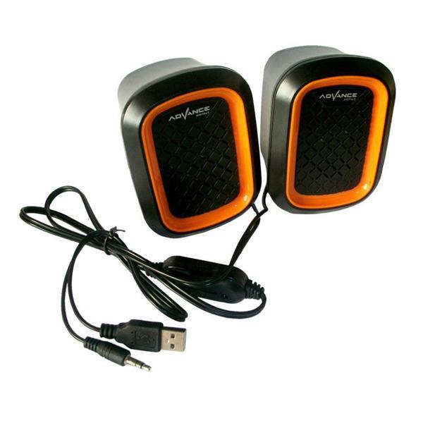 Advance Duo-050 Speaker Oranye