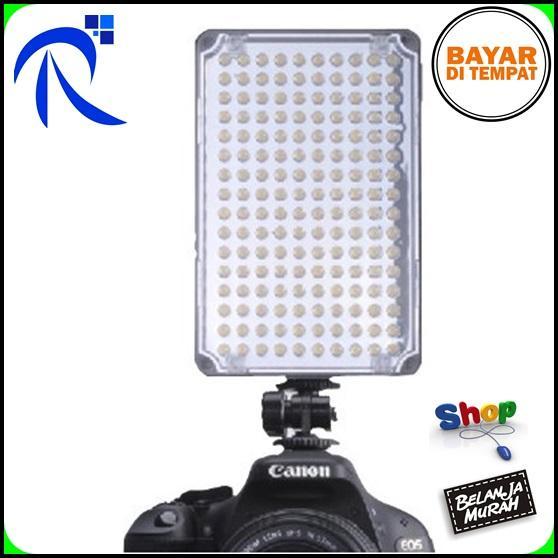 Aputure 160 Led Video Light For Camera Dv Camcorder Canon Nikon Sony - Al-H160 - Lampu Flash Aksesoris Set Perlengkapan Lighting Pencahayaan Studio Kamera
