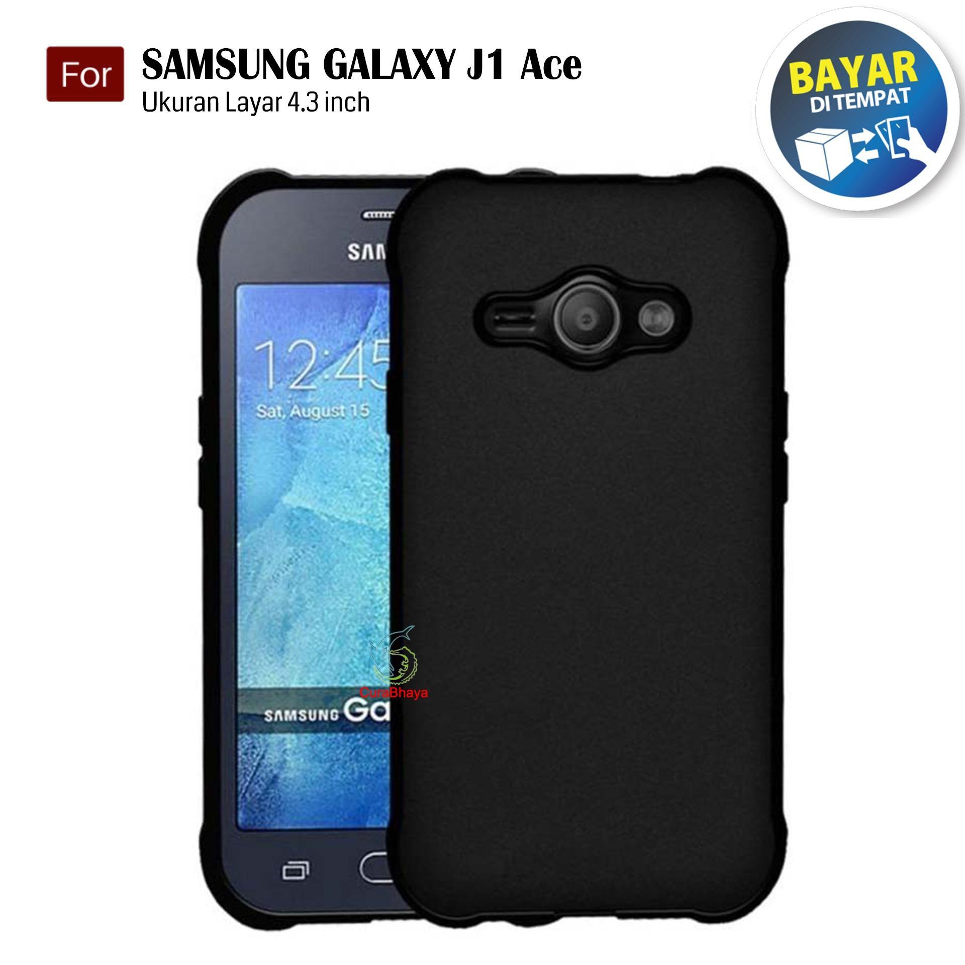 MidNight Samsung Galaxy J1 Ace / J110 / Duos | Slim Case Black Matte Softcase Premium Baby Skin - Hitam