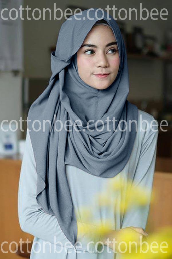 Cotton bee Pashmina Instan Alula / pashmina hijab instan / jilbab langsung pakai / pastan diamond termurah /kerudung segiempat Diskon