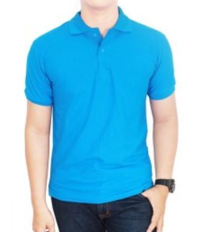 Kaos kerah pria/wanita kaos Polos model terbaru Kaos Polos warna murah Polo T.Shirt fhashion kerah warna
