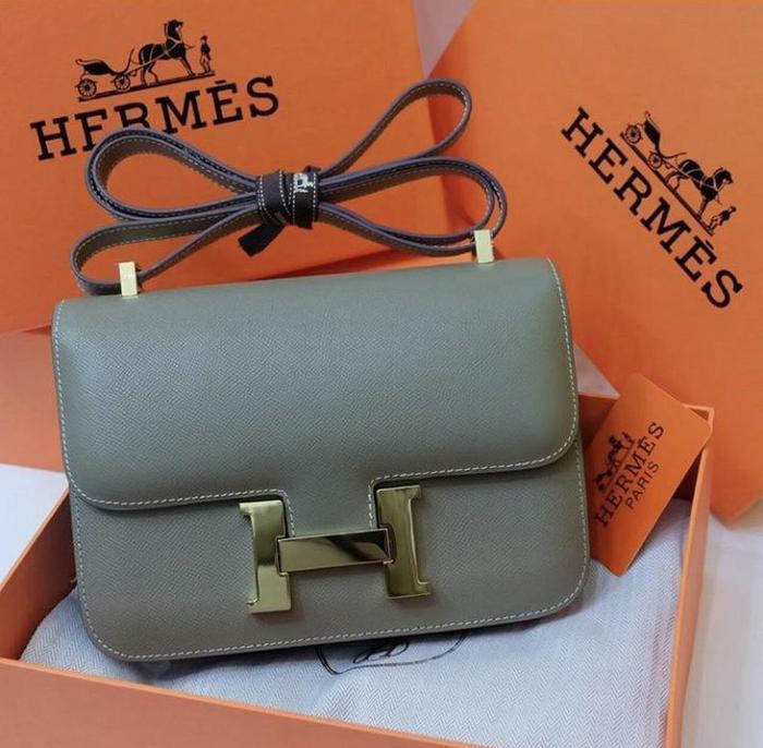 PROMO!!! HERMES CONSTANCE EPSOM LEATHER 24cm SHW Rp 3.000.000,- - QWOj2P