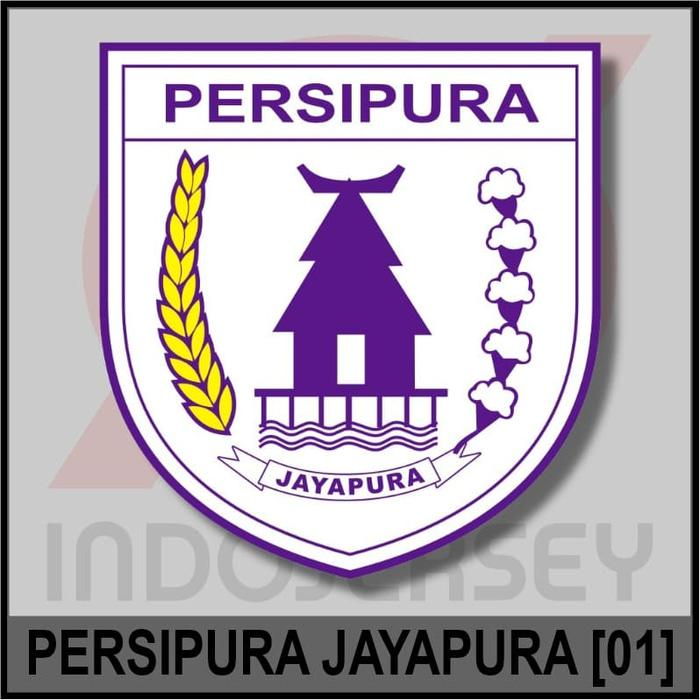 Diskon 10%!! Patch Badge Flock Liga Indonesia - Persipura Jayapura 01 - ready stock