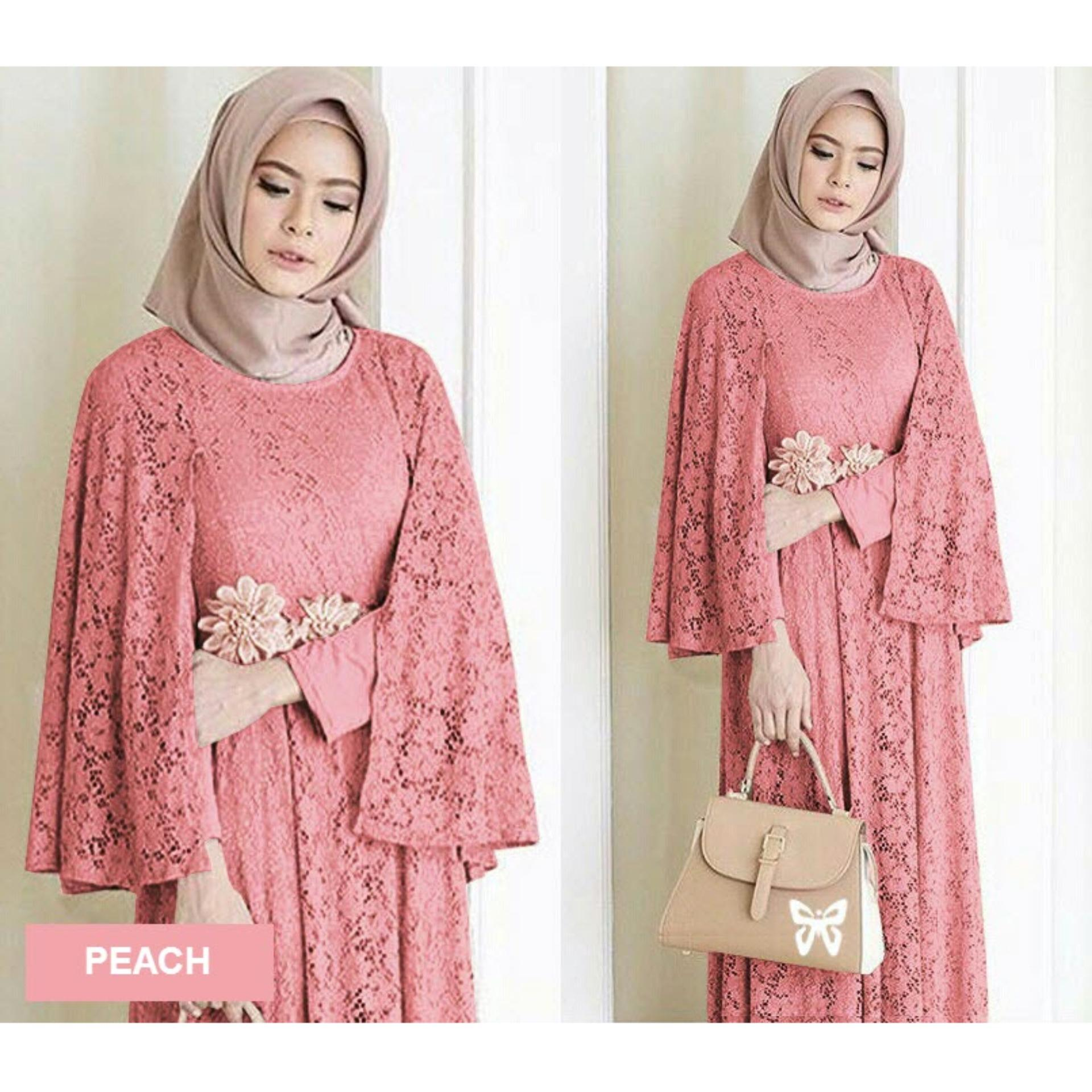 Baju Muslim Jumpsuit Jual Gamis Terbaru Terlengkap Lazada Co Id