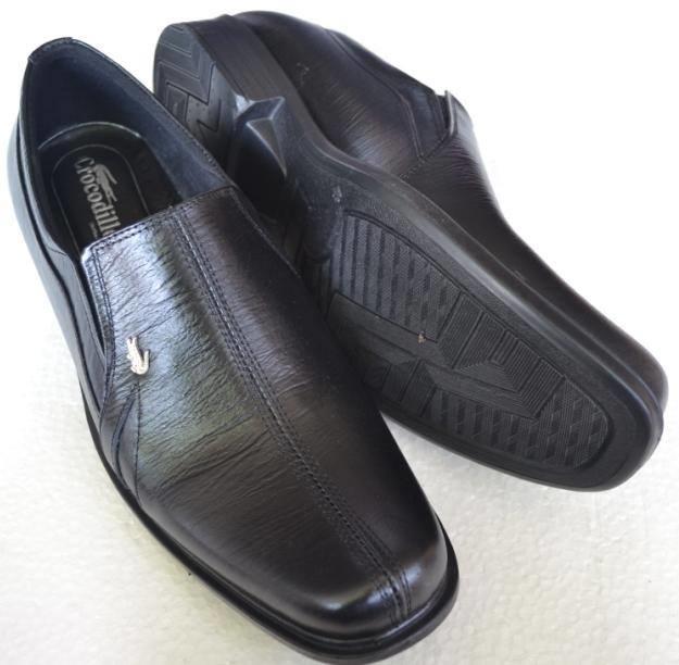 Sepatu Pantofel Crocodile Cc782 Kulit Sapi Asli - Sepatu Pria Formal Cool And Calm