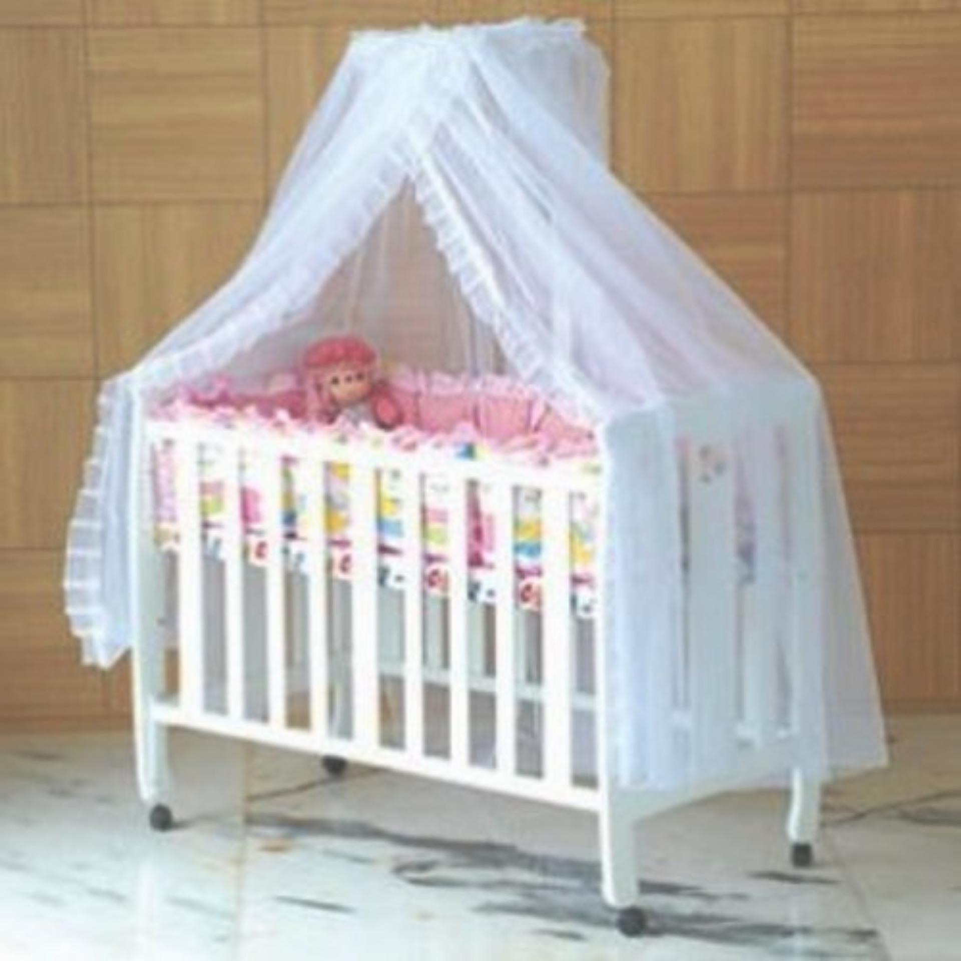 Modernfurniture Baby Box Sakura HK022 Matras Tiangtanpa Asesoris Dan Kelambu