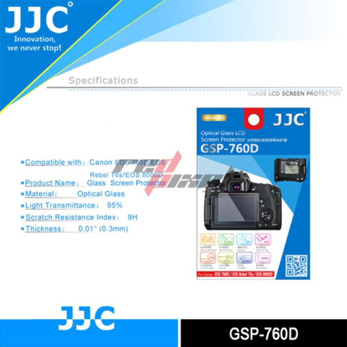 JJC GSP-760D ~ GLASS PROTECTOR FOR CANON EOS 760D