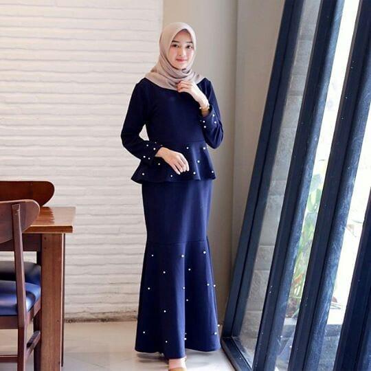 Baju Original Gamis Mermaid Dress Balotelly Baju Muslim Terbaru 2018 Baju Wanita Gamis Casual Baju Terusan Panjang Gaun Pesta Murah Remaja