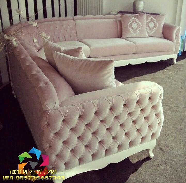Sofa sudut Chester kualitas, Kursi sofa. PESONA JEPARA 02