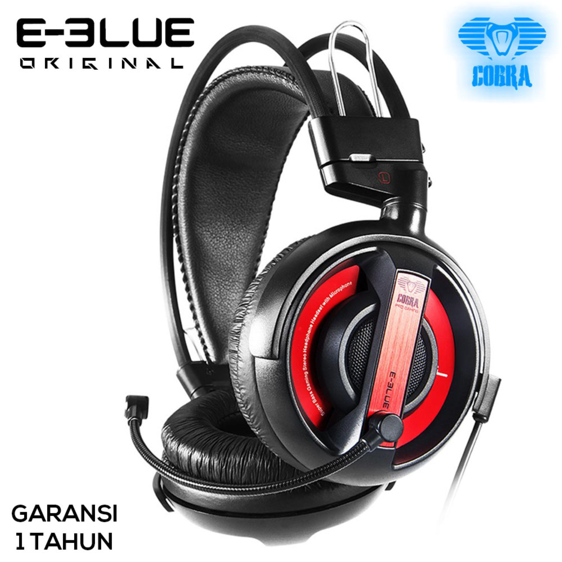 E-Blue Cobra Series Professional Gaming Headset  - EHS013 - Red