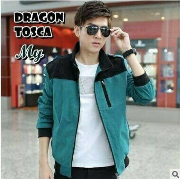 Dragon Jacket Pria Elegant Best Promo Best Seller