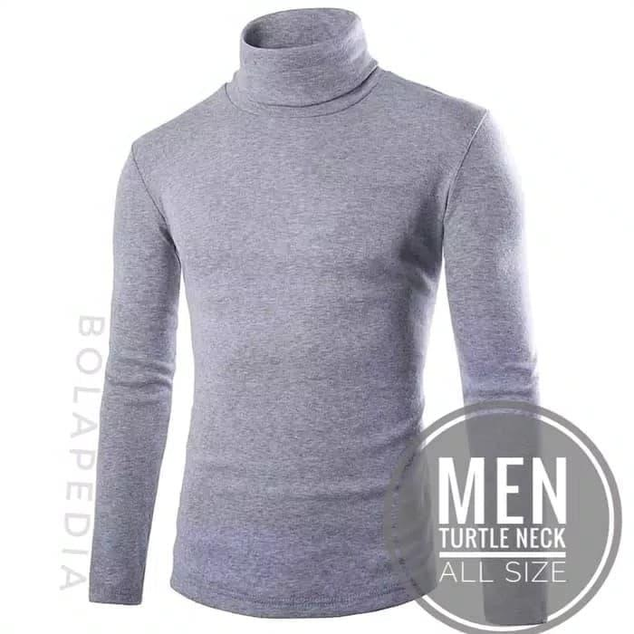 87f5ba36c JUAL Kaos Turtleneck turtle neck pria fashion distro kerah tinggi hoodie