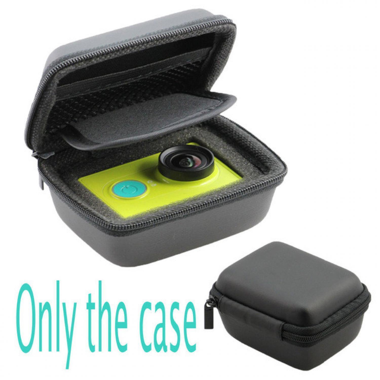 Rimas COD Portable Hard Shell Case for Xiaomi Yi - Small Size - Black/Hitam