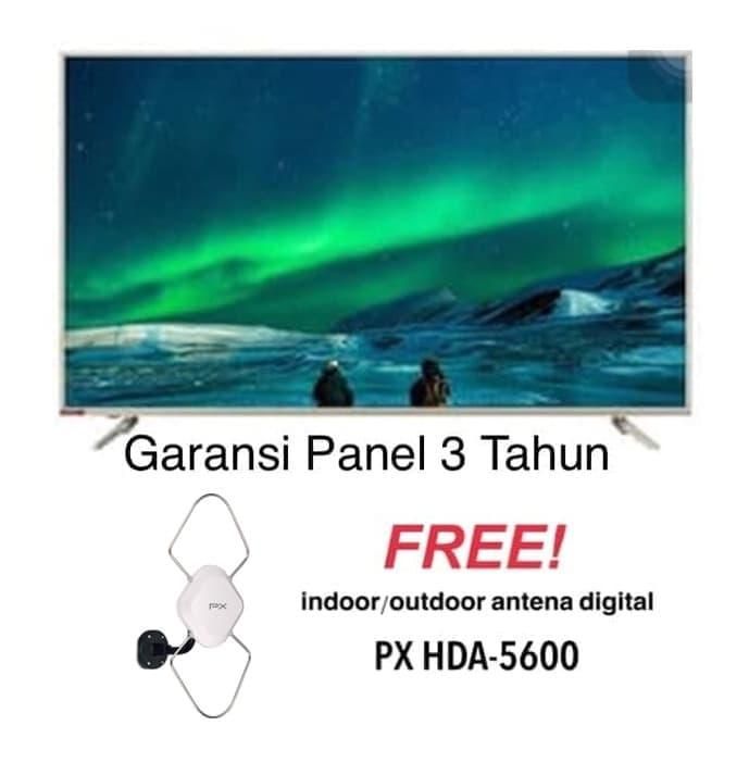 Changhong 55E6000i Android LED Smart[55 Inch/UHD 4K]+Antena PX HD-5600