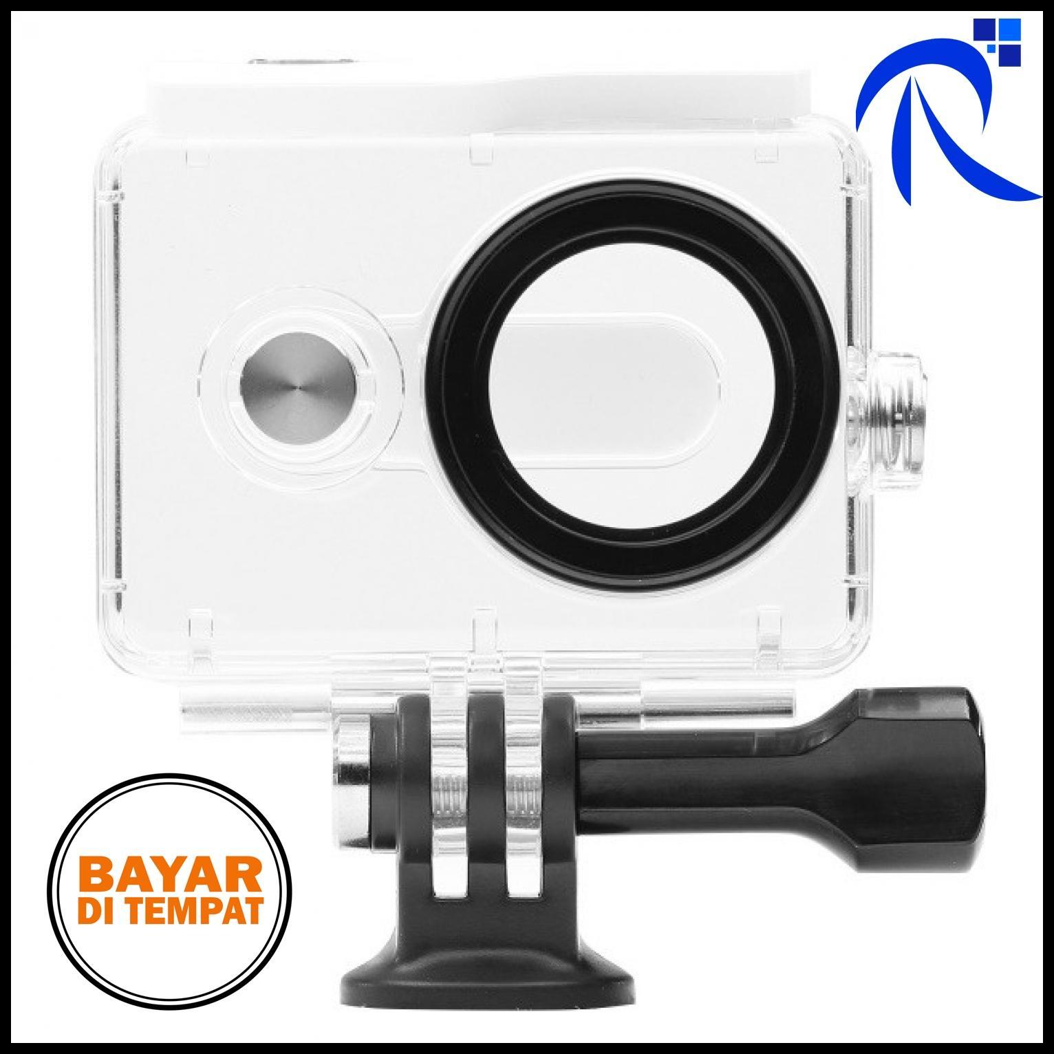 Xiaomi Underwater Waterproof Case IPX68 40m for Xiaomi Yi Sports Camera (ORIGINAL) - White / Putih